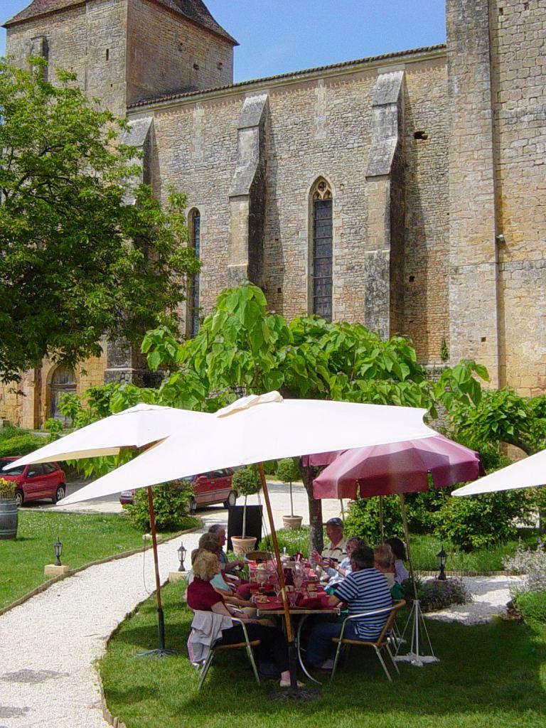 Meal in Dordogne